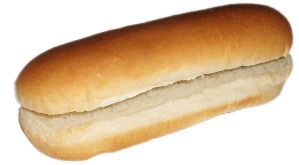 Amerikai hot-dog kifli 17 cm HD 170