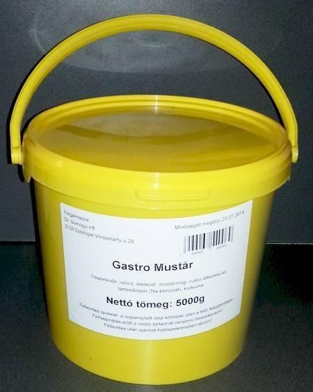 Mustár vödrös Gastro 5000g