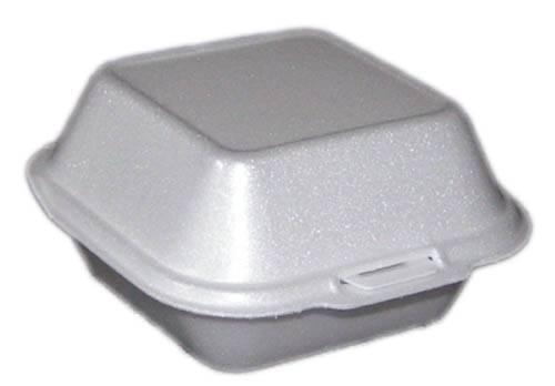 Hamburger habdoboz kicsi 11x11x7,5cm