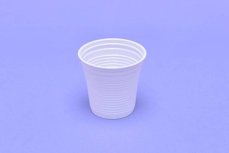 Pohár fehér 0,8 dl-es