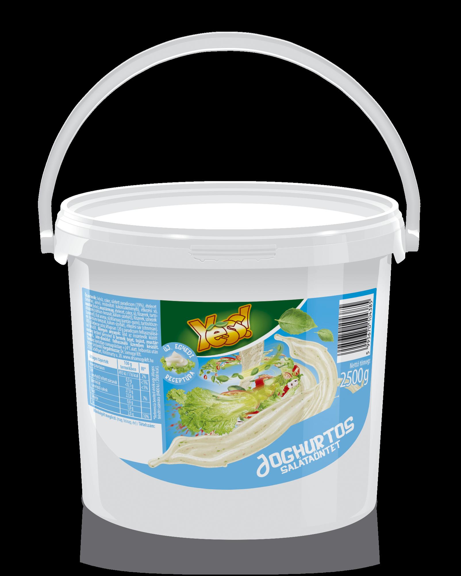 Joghurtos öntet Yess 2,5kg