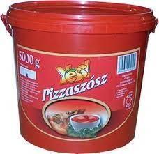 Pizzaszósz vödrös Yess 5000g