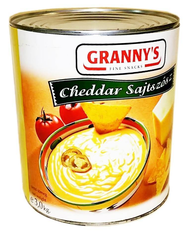 Cheddar sajtszósz Grannys 3Kg