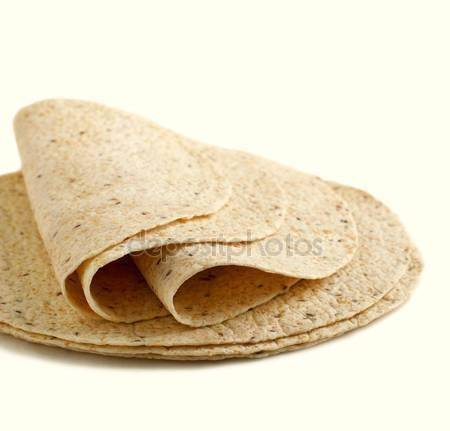 Tortilla lap teljeskiörlésü 80g 25cm.