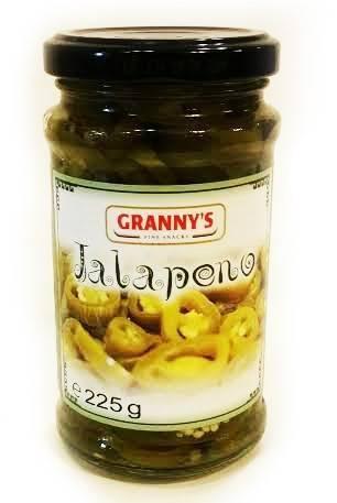 Jalapeno paprika Granny's 225g