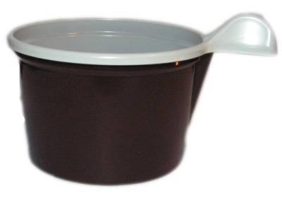 Kávéscsésze /barna-fehér/ 100ml
