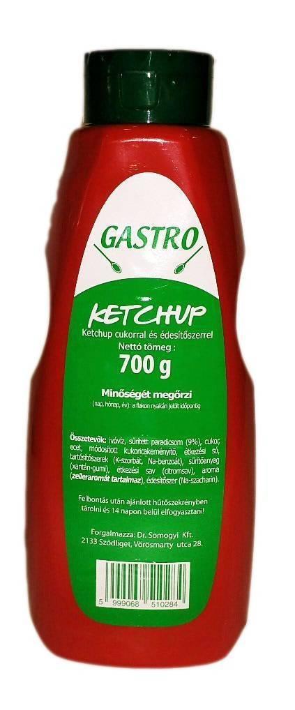 Ketchup flakonos Gastro 700g