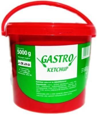 Ketchup vödrös Gastro 5kg