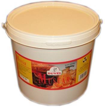 Mustár vödrös 5kg Duvél