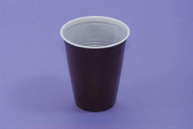 Barna-fehér pohár 1,5dl-es