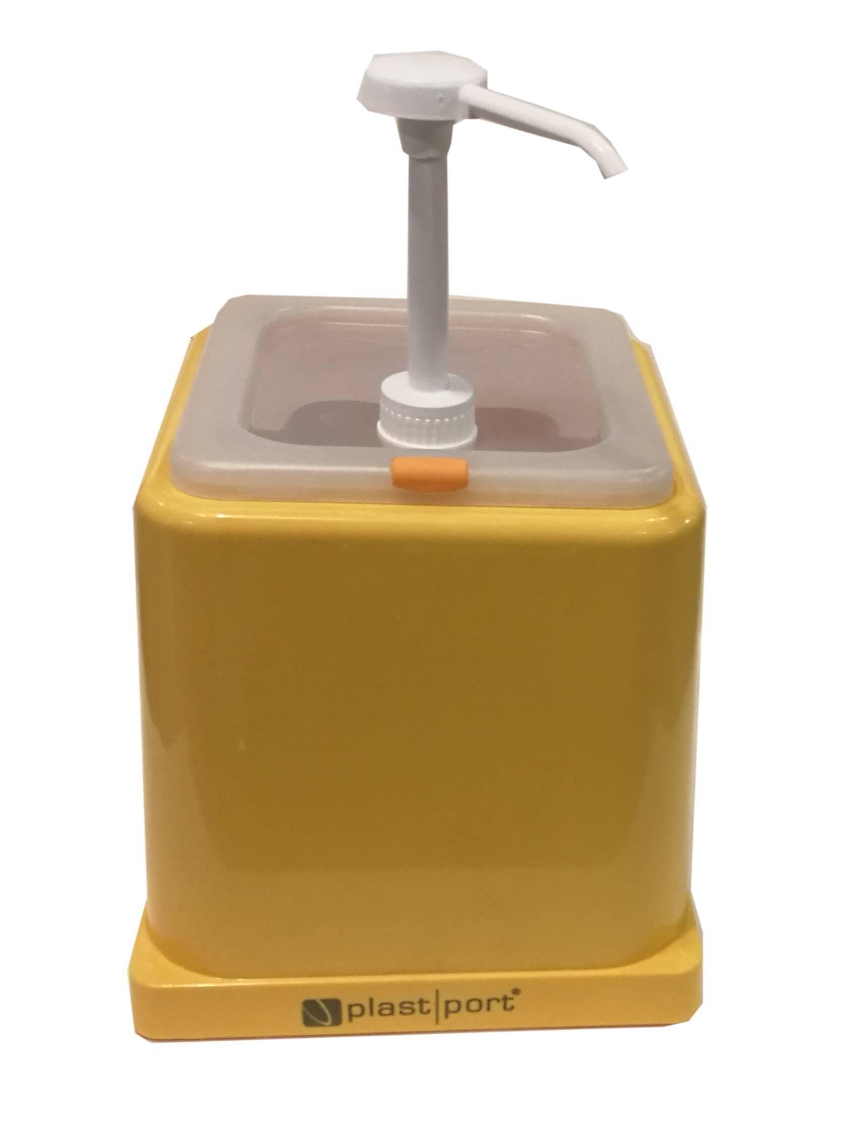 Pumpás szószadagoló sárga