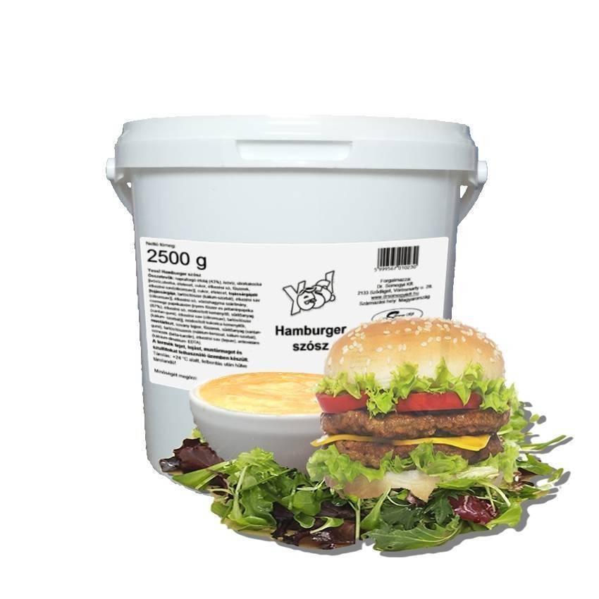 Hamburgerszósz vödrös YESS 2,5kg