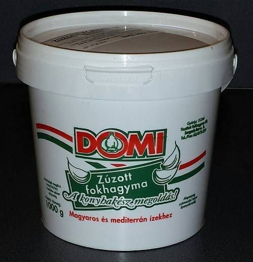Zúzott fokhagyma natúr 1kg
